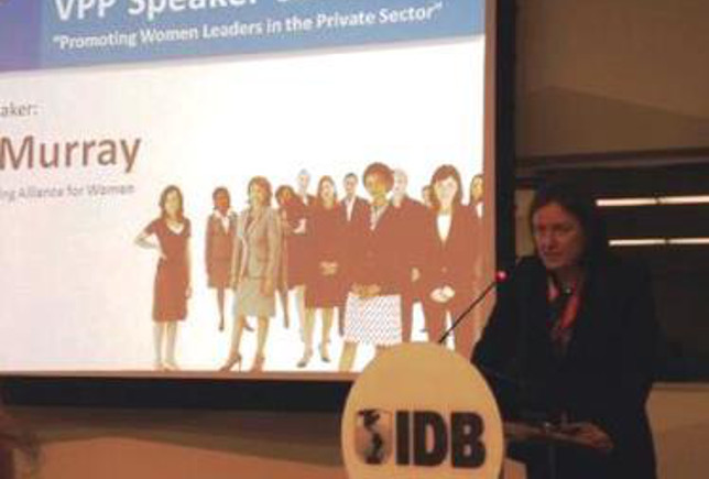Inez Murray, directora ejecutiva de la Global Banking Alliance for Women