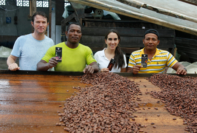 Fundadores de Pacari Chocolate