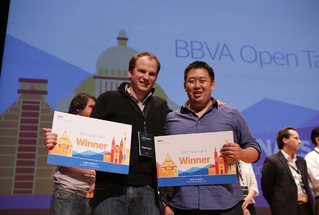 Bitnexo y Destacame.cl, ganadores de BBVA Open Talent Latinoam�rica 2015